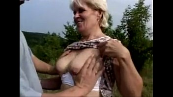 blonde granny hairy Incest in front of mom son