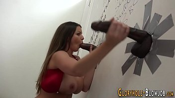 hand fast gloryhole Black tranny breeds white couple