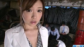 sex boss offices her japanese lady Unique breasty glamour babes in erotic action
