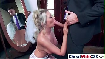 of young wife front husband creampie in Mature woman giving blowjob cum to tits in the sitting roo