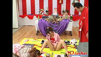 japanese massage facial Young lovers surprised