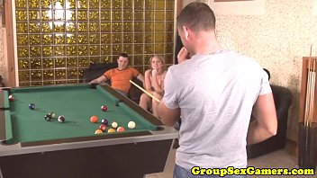 soleil hughes on table pool Handsome boys bare back forced