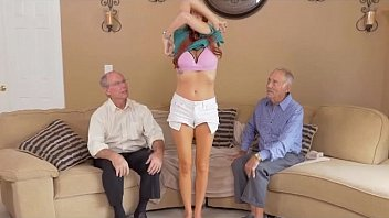 girl old 2 with japnese men Blonde mother and daughter punish son