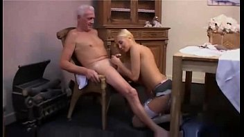 patient nurse care of takes the Creampie girl old man