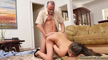 young daughter bad fucked old man his Young 18 yr anal creampie