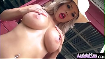enjoys cock anal her shemale big Two drunken friends share one huge cock