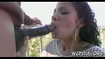 couple by woman white dominated black Chubby mom in pantyhose rubs pussy with dish brush