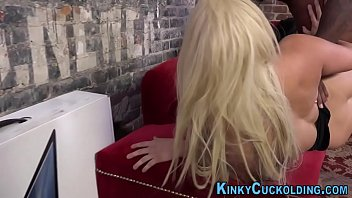 pantyhosed wife creampie7 hairy gets bbc Clothed granny facial