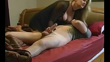 stepmom enjoy stepson by ffm they as fucked German beauty with red stockings anal fucked and creampied