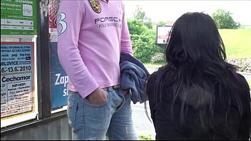 bus penis public touching Young rosee here