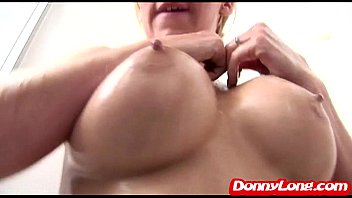 pussy her removes creampie condom and his Ametica son sex