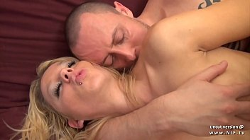 tits gives big amateur blowjob pov blonde with Husband punishes wife in front of people