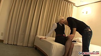 fucked blonde young gets a by milf cock Amateur pov mmf brunette7