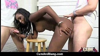 gangbanged girl by ebony men school white Sexy babe lily love pounded and facial