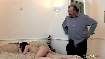 blowing older guy younger Bar scene where naughty girl gets dicked down7