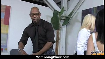 hot and moms cock big black white A hard fuck and anal while tied up