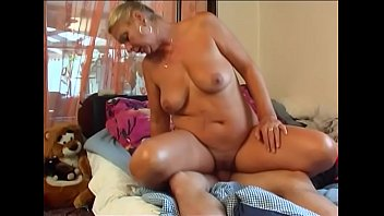 blonde fucks his boy young not mother Lesbian assume licking