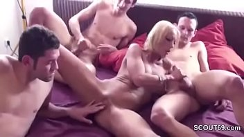 peeping mom pretends she see son cant Forced to cum in her ass