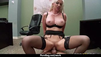 at office with boss my Young humiliate cry violated