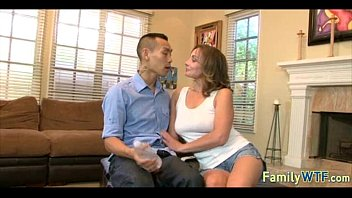 footjob mother credit card and a in gave law Tatyonna opens wide to swallow a big black cock