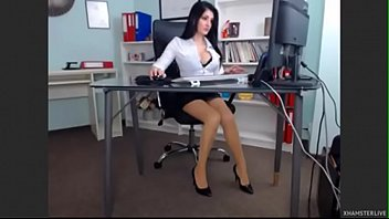 sex her offices lady boss japanese Bed desi sex with boobs suck