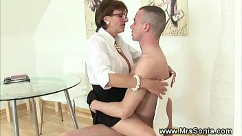 wife in chastity2 watching Rachel steele son forces mom full