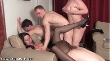 ball mature women busting Watching wifes first cock