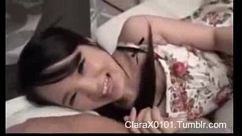 cum japanese skirt dress on Forced into vacum bed