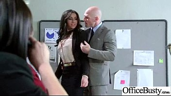 busty tits big at work secretary office 29 sexy in banged Moms in linderir