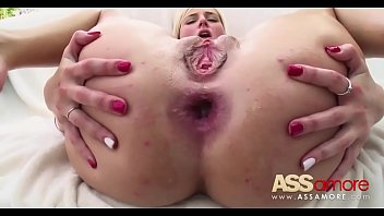 in gaping creampie hole Big boobs mature cum in side her pussy
