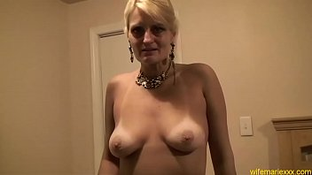 mom blond sleep Cute blonde used by four hung studs double anal