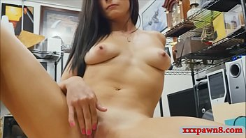 hot a with dildo her pussy playing babe Oldman cum swap