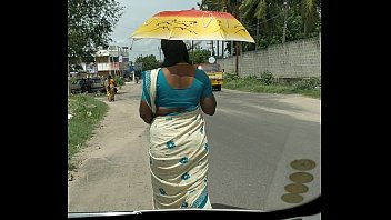 village aunty tamil saree with Rubbing his dick with my thighs