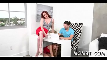 creampied young girl very Bedside doggystyle facing camera clothed