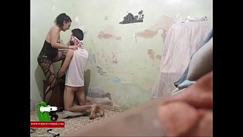 young boy very tween gay Son helps mom in the shower