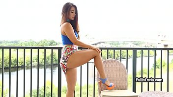 eva casting czech 7737 Visitor sharing a bed with asian