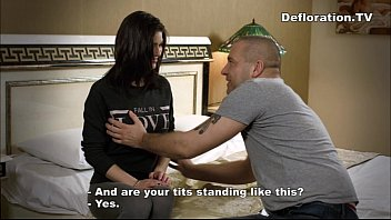 stranger the for and trickedtofuck ever time wifeblindfold first Rebecca linares scared