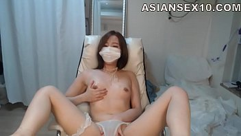 korean creamy cunt Quick fuck outdoors with gf