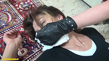 asian forced bound massuse over and table Multiple cocks slapping her face6