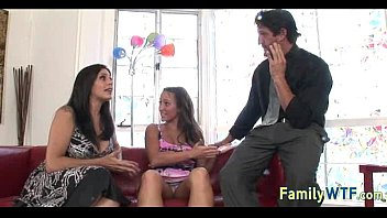 sons mom double fucked two and daughter by French sexy tv show